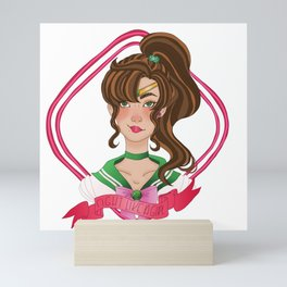 Fight Like a Girl - Sailor Jupiter Mini Art Print