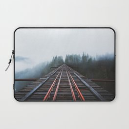 Abandoned Railroad Vance Creek Bridge - Olympic National Park, Washington Laptop Sleeve