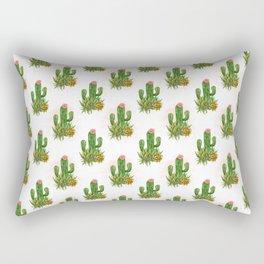 Cacti and succulents arrangement Rectangular Pillow