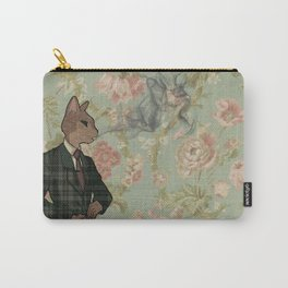 Monsieur Chat Carry-All Pouch