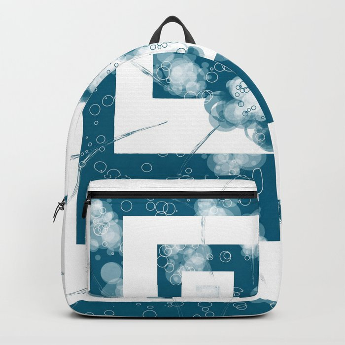 Circles and Squares Backpack