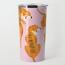 Three fierce tigers Travel Mug