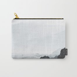 Sea Waves Seascape, Ocean Waves Photography, Sea Coast, Sea Beach Tapestry, Pillow etc Carry-All Pouch