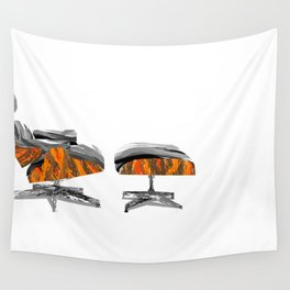 Eames Lounger Wall Tapestry