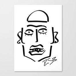 Faire Visage No 30 Canvas Print