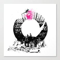 builders Canvas Print
