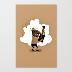 Willie One String Canvas Print