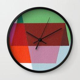 Folds Wall Clock