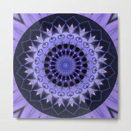 Mandala Path of enlightenment Metal Print