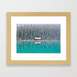 idyllic winter scene #society6 #decor #buyart Framed Art Print