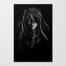Asuka Langley Soryu Digital Painting Rebuild of Evangelion 3.0 Character Poster Canvas Print