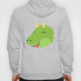 Happy Draco the Fluffy Monster Hoody