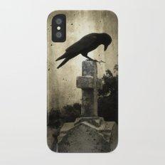The Crow's Cross iPhone X Slim Case