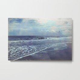 The Ocean Blue Metal Print
