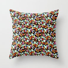 jewel drop Throw Pillow