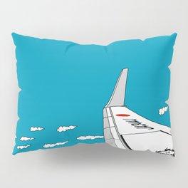 Airplane Wing Pillow Sham