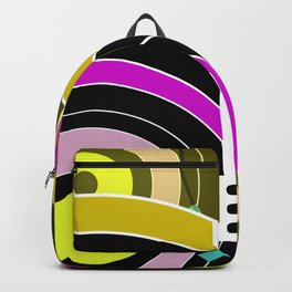 Bright retro records Backpack
