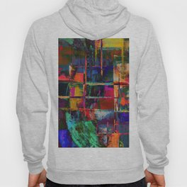 Canvas Abstract Deux Hoody
