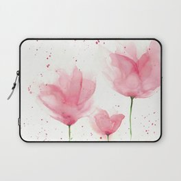 Watercolor Flowers Laptop Sleeve