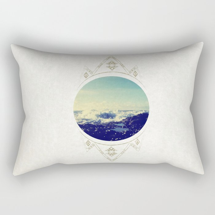 sea escape Rectangular Pillow