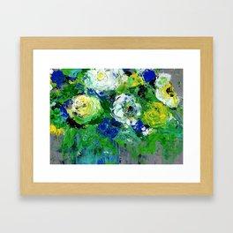 Abstract Floral - Botanical Framed Art Print