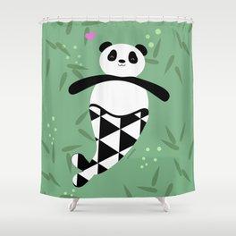 Merpanda Shower Curtain