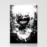 tokyo ghoul Stationery Cards featuring Kaneki Tokyo Ghoul by Prince Of Darkness