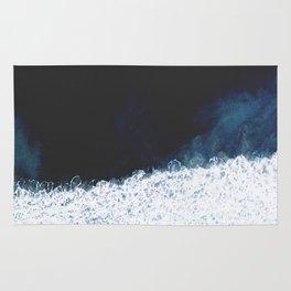 Ocean III (drone photography) Rug