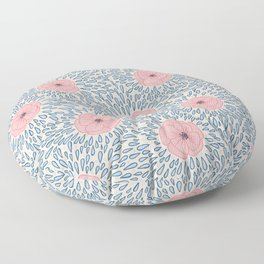 April Showers, May Flowers Floor Pillow