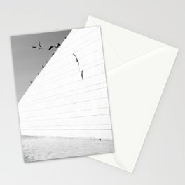Shadows birds Stationery Cards