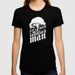 Let's Lynch the Landlord Man • Punk Rock Lyrics T-shirt