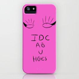 idcabuh iPhone Case