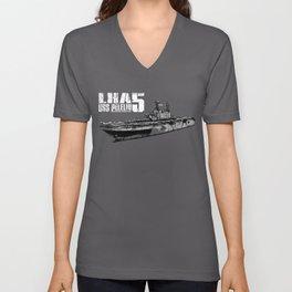 USS Peleliu (LHA-5) Unisex V-Neck