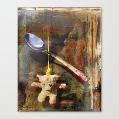 The Care and Feeding of Teddy Canvas Print