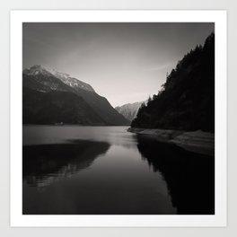 Lake Achensee in Tyrol Art Print