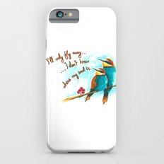 Lost birds Slim Case iPhone 6s