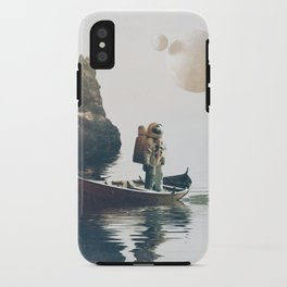 Searching Land iPhone Case