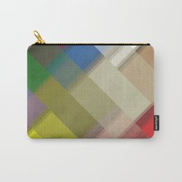 Abstract gradient art geometric background with soft color tone, cell grid. Ideal for artistic conce Carry-All Pouch