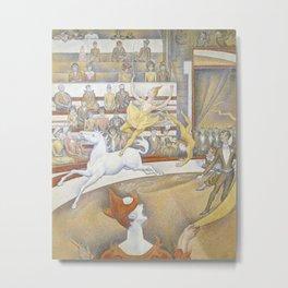 Georges Seurat - Le Cirque Metal Print