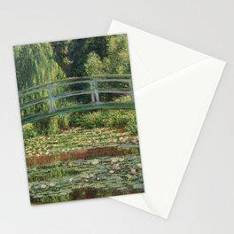 Monet - The Japanese Footbridge and the Water Lily Pool Stationery Cards