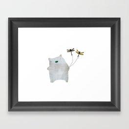 Bear and friends Framed Art Print