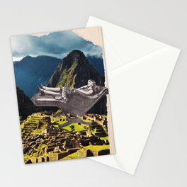 Vintage photo collage #215 Stationery Cards