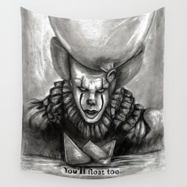 You'll Float Too Wall Tapestry