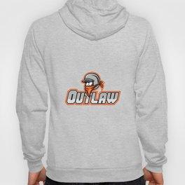 Outlaw Biker Mascot Hoody