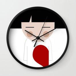 japan animation (in love..boy) Wall Clock