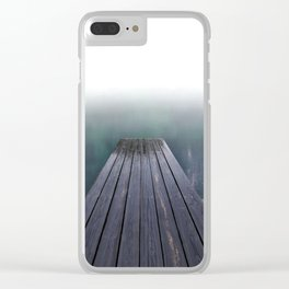 board Walk (smaller sizes) Clear iPhone Case
