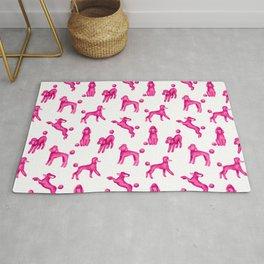 Pink Poodles Rug