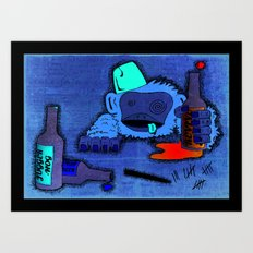 Too much of a good thing... Art Print