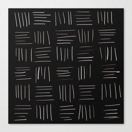 Open Weave Canvas Print