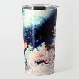 Marbled Galaxy Cells Travel Mug